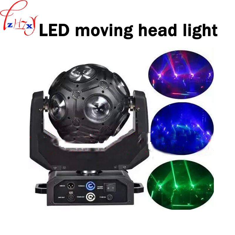 LED soccer lights 300W 12 * RGBW 4in1 LED shaking his head bulbs magic ball stage lights rotating lights 90 240V