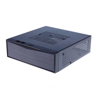 NEW DIY Horizontal Mini itx HTPC case black Steel home theatre itx PC computer motherboard gaming desktop enclosure chassis
