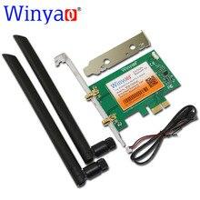 Winyao pce-7260ac 867 мбит 802.11ac wi-fi адаптер gigabit ethernet pci-e pci express wifi + bluetooth bt 4.0 intel 7260hmw 7260ngw