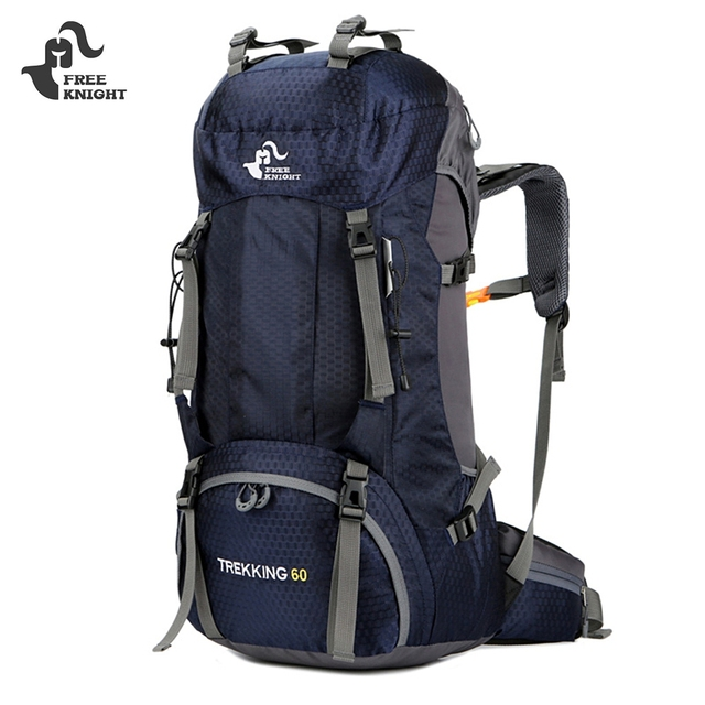 86be0f97b FREE KNIGHT Camping Travel Hiking Backpack Bag Nylon Waterproof Outdoor  Backpack 60l Climbing Backpack Sports Bag