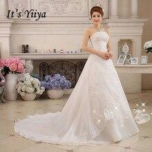 Vestidos De Novia, настоящая фотография, блестящее свадебное платье без рукавов, дешевые белые свадебные платья принцессы XXN001