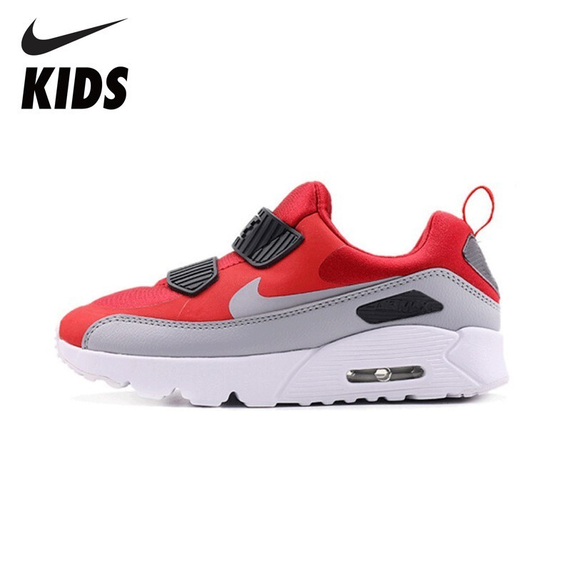 NIKE Kids Original AIR MAX TINY Running Shoes Comfortable Cushion Running Shoes 881927 носки nike elite running cushion qtr sx4850 010