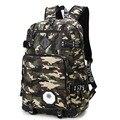 Комо Мода мужская рюкзаки армии зеленый камуфляж рюкзак прохладно высокой школьные сумки для подростков мальчиков большой емкости