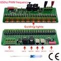30 canais DMX 512 rgb tira CONDUZIDA controlador dmx decoder dimmer motorista DC9V-24V