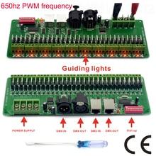 30 канал DMX 512 rgb LED контроллер dmx декодер диммер водитель DC9V-24V