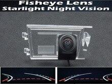 HD 1080P Fisheye Lens Trajectory Tracks Car Rear View Camera For Jeep Compass Liberty Grand Cherokee Patriot 2009 - 2014