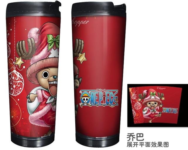 One Piece Chopper Double Insulation Coffee Mug