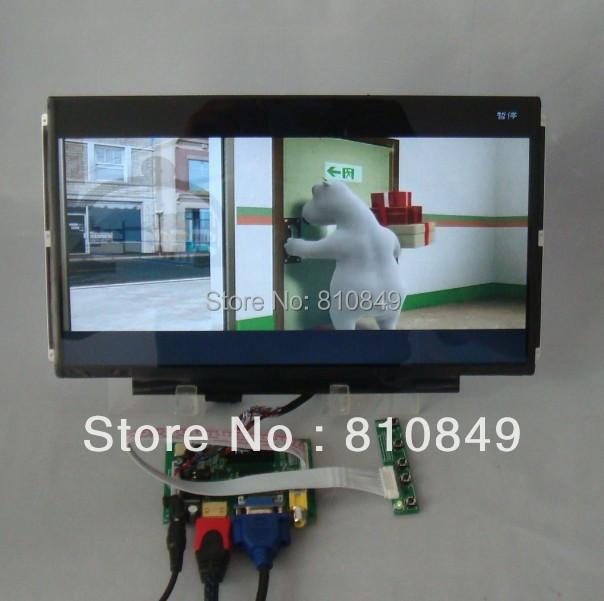 HDMI+VGA+2AV Control board+13.3inch 1366*768 N133BGE LP133WH2 LTN133AT16 Lcd LP133WH2 B133XW01 LTN133AT16 CLAA133WA01A1 hdmi vga av audio usb fpv control board 13 3inch 1366 768 n133bge lp133wh2 lcd screen model lcd for raspberry pi