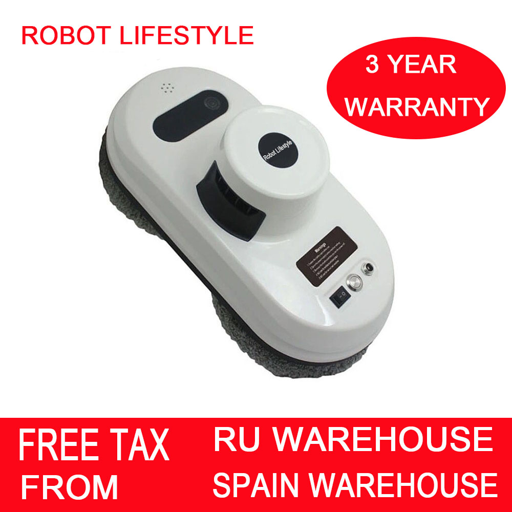 (Ship From RU CN) Robot Vacuum Cleaner Anti-falling Smart Window Glass Cleaner Wall Cleaner Robot Vacuum Cleaner