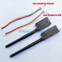 The New Single TTL 3DRobotics 3DR Radio Telemetry Kit 433Mhz 100mw For APM APM2 PIXHAWK PX4