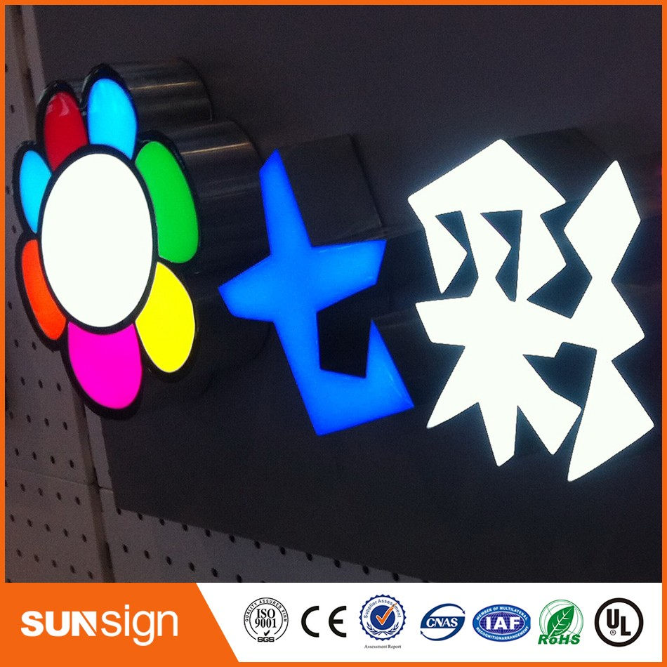 Wholesale Outdoor Decorative Acrylic LED Letter Sign