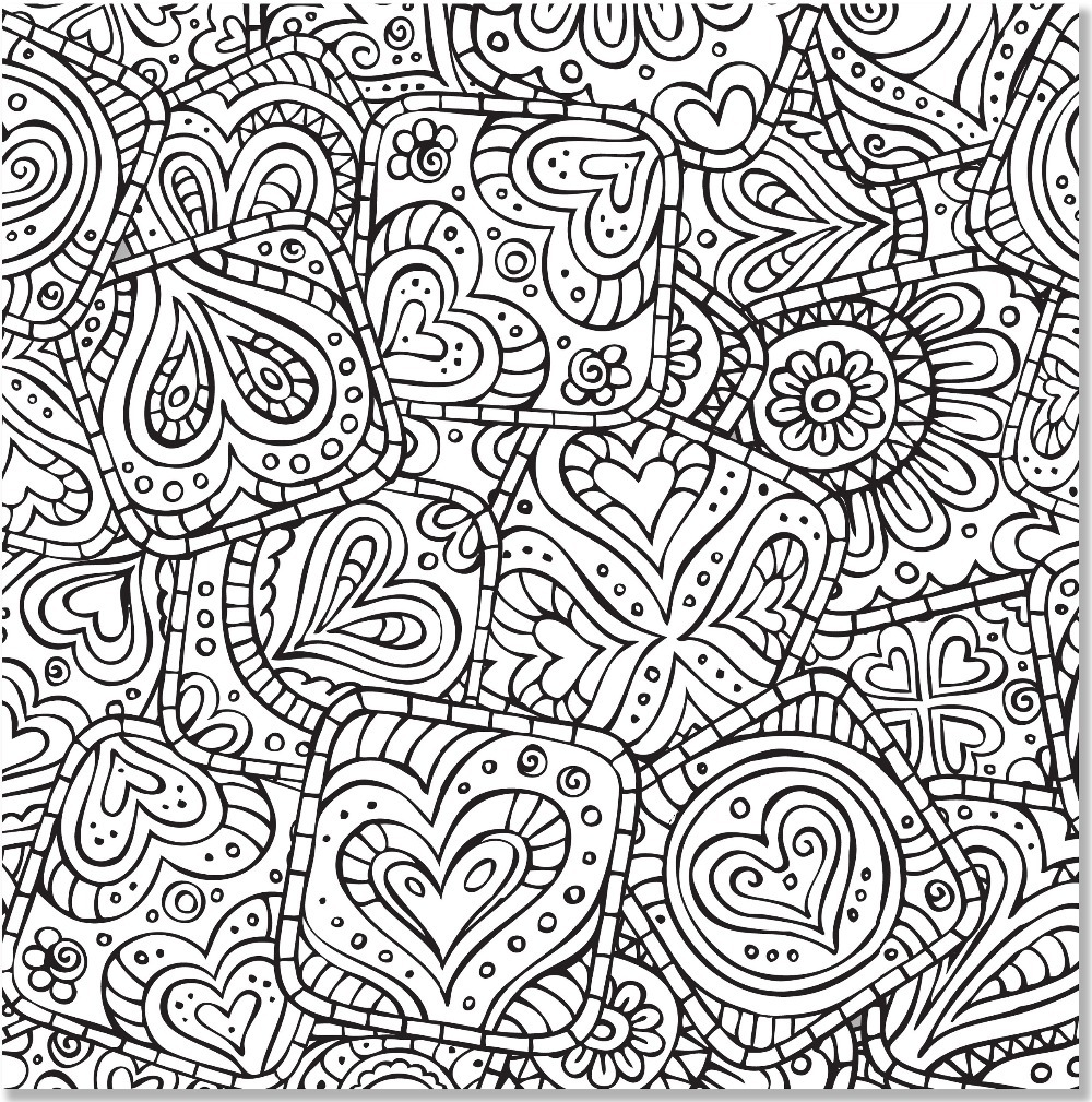 Doodle Designs Artists Coloring Book 31 Stress Relieving English For Adults Pencil In Books From Office School
