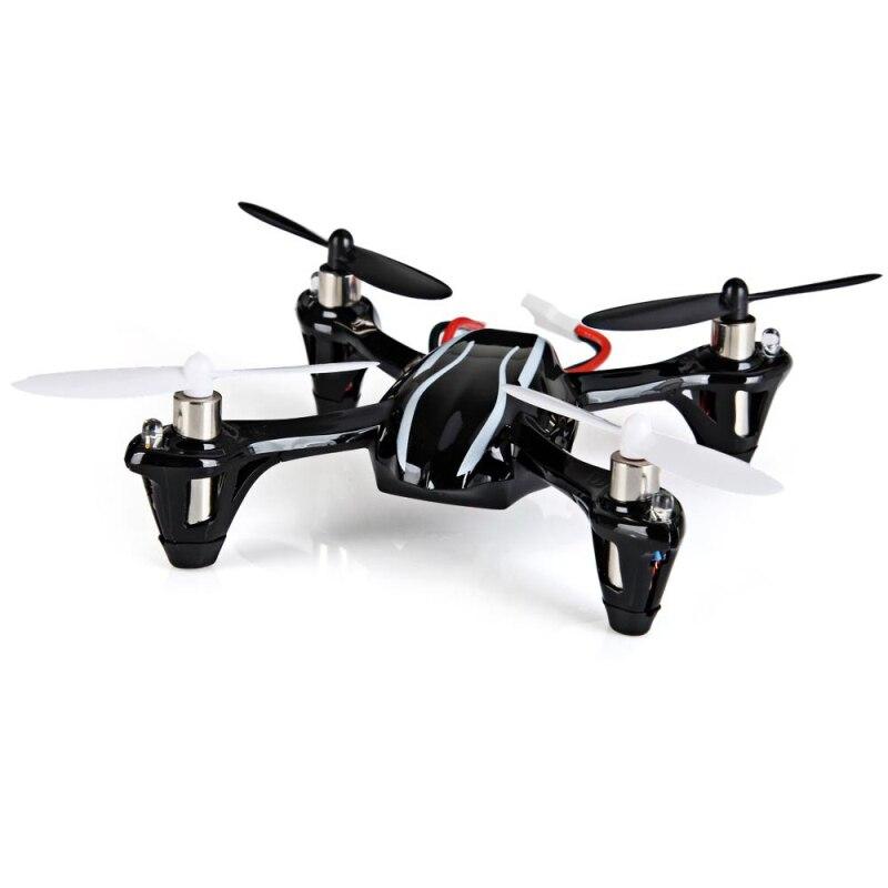 Mini rc drone H107L 2,4G 4CH RC helicóptero Quadcopter RTF con HD 2MP Cámara Gyro RTF con luz Led cuadcóptero de control remoto - 2