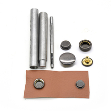 20set brass snap fasteners and tools  Sewing snaps Cotton coat metal jacket buttons Wallet buckle. Metal rivet