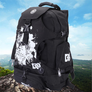 Image 4 - Quality outdoor roller skate shoes backpack with big size for sports camping mens backapck or womens for a variety of venues