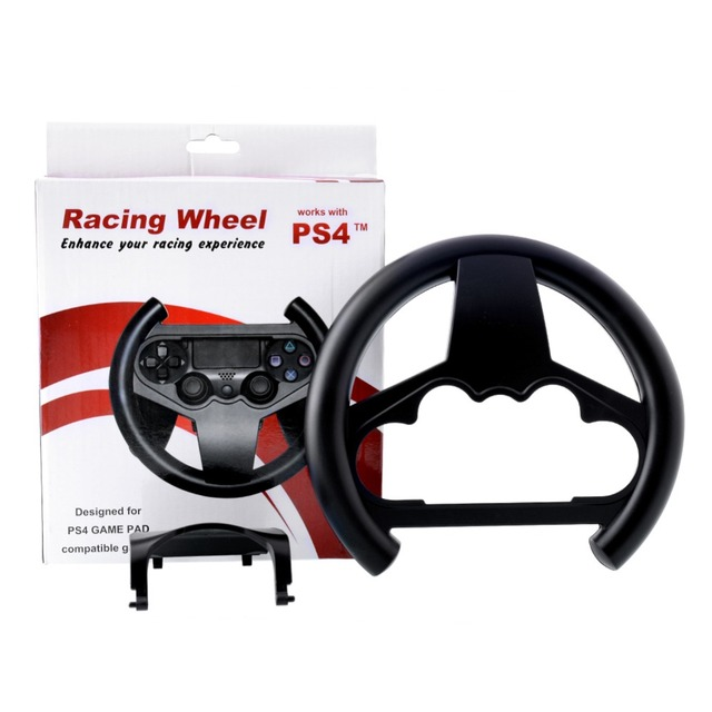 ps4 ps 4 game controller racing car steering wheel driving. Black Bedroom Furniture Sets. Home Design Ideas
