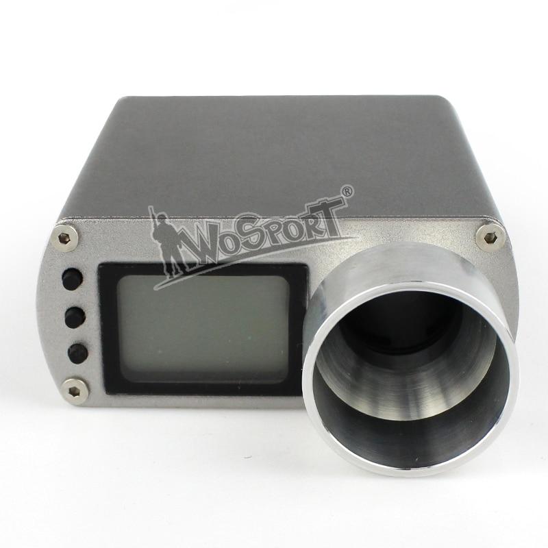 WoSporT тактический военный цифровой модернизированный тахометр для измерения скорости ВВ шарики /шарики воды/инструмент Пейнтбол тахометр