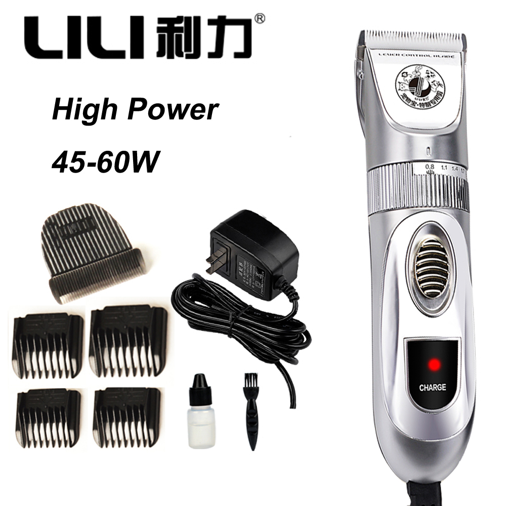 Professional 60W Pet Trimmer Scissors Dog Cattle Rabbits Shaver High Power Horse Grooming Electric Hair Clipper Cutting Machine 1