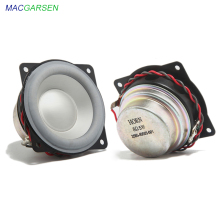 2 inch Full Range Speaker 5W Hifi Bookshelf Midrange Speaker 8 ohm DIY Home Theater for Portable Bluetooth Gaming Speakers 2pcs