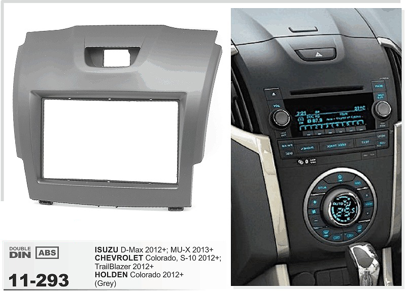 11 293 Car Radio Dvd Fascia For Chevrolet Trailblazerisuzu D Max