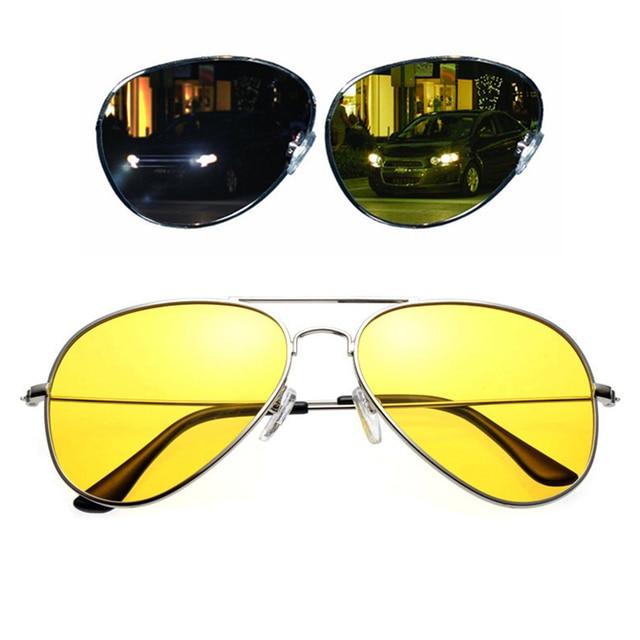 712d7cba2d6 Polarized Copper Alloy Car Drivers Night Vision Goggles Anti-glare  Polarizer Sunglasses Polarized Driving Glasses