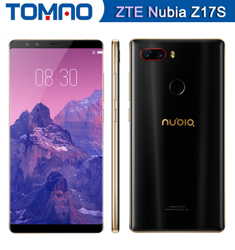 Global Firmware Nubia Z17S Z17 S 6G 64G Full Screen Mobile Phone Snapdragon 835 Octa Core