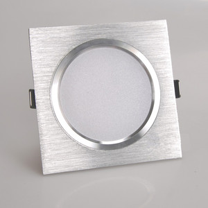 Image 4 - 2.5 אינץ Downlight LED 6 w 9 w 12 w 220 v טבע לבן כיכר שקוע LED מנורת ספוט אור לסלון מבואה שינה מטבח