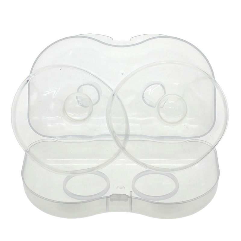 Transparent Silicone Shell 2pcs/lot Soft Silicone Nipple Shield Protector Maternity Silica Gel Baby Breast Milk Feeding Hot Sale