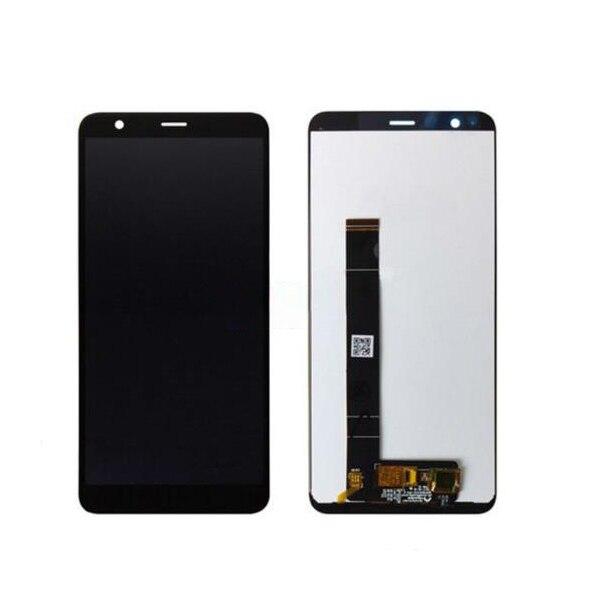 Nouveau pour asus Zenfone Max Plus M1 ZB570TL écran tactile LCD écran capteur verre assemblage cadre pour Peg asus 4 S X018D numériseur