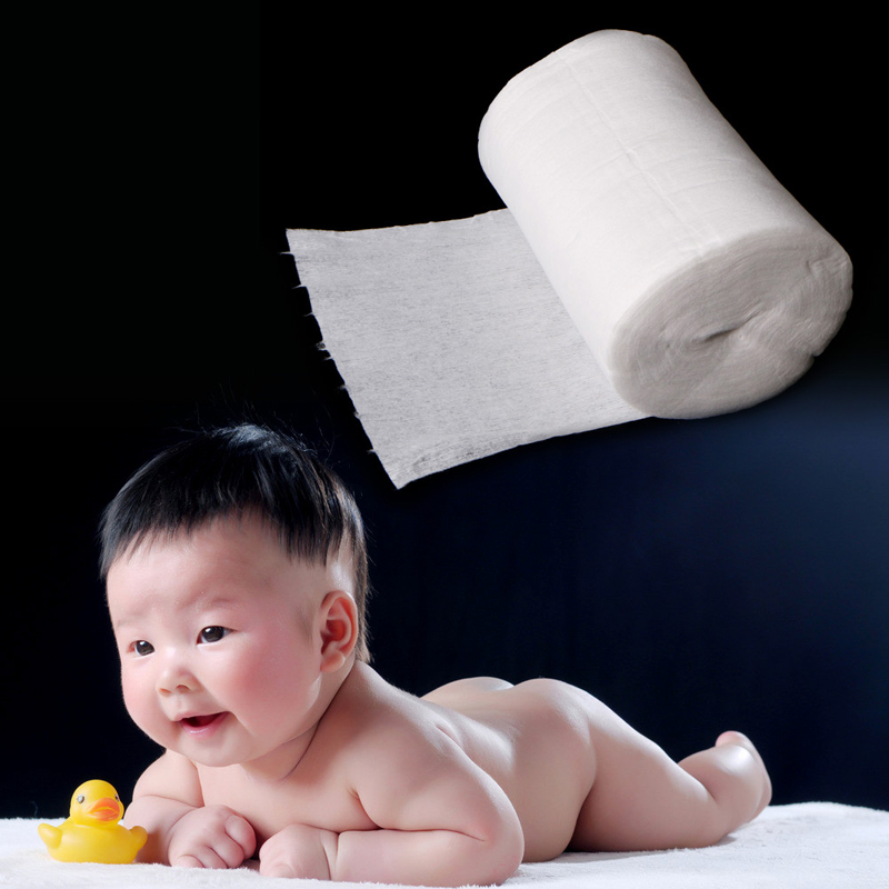 Baby Diaper Biodegradable Viscose Flushable Nappy Liners 100 sheets per Roll