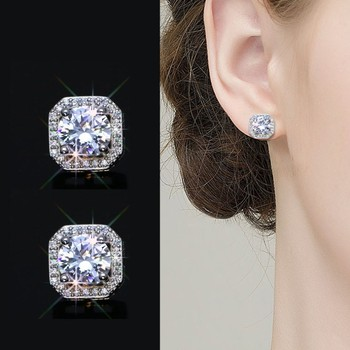 2020 New Fashion jewelry 925 silver Needle Hollow Carved Earrings Female Crystal from Swarovskis Woman Christmas.jpg 350x350 - 2020 New Fashion jewelry 925 silver Needle Hollow Carved Earrings Female Crystal from Swarovskis Woman Christmas gift