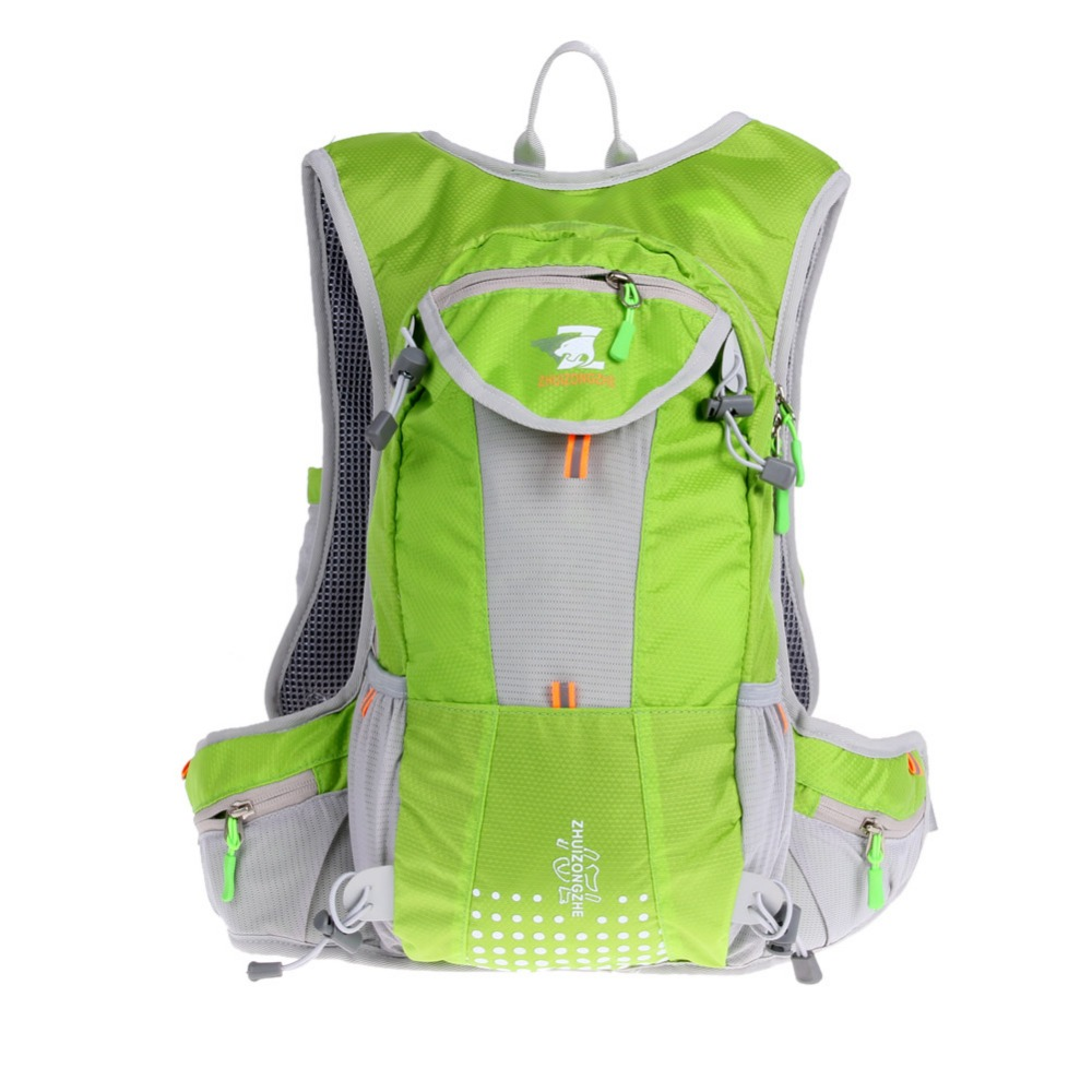 Large Waterproof Camping Backpack Lightweight Breathable Outdoor Climbing Cycling Sport Rucksacks with Strap Water Bottle Holder