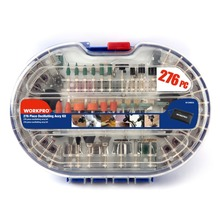 WORKPRO 276 UNIDS Rotary Tool Set Bit Eléctrica Dremel Accesorios de la Herramienta Rotatoria para la Molienda de Pulido De Corte