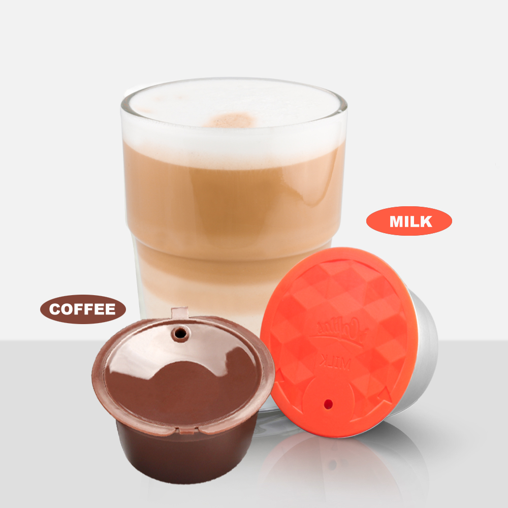 2019 New Milk Foam Dolce Gusto Beater Maker Stainless Steel Filter Reusable Dolci Coffee Capsule Perfect Partner