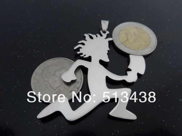 Free ship wholesale large hatchetman charm icp hatchet man pendant free ship wholesale large hatchetman charm icp hatchet man pendant juggalo grade jewelry 316l stainless steel pendant necklace in chain necklaces from aloadofball Gallery
