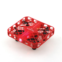 New design Reticular Crashworthy Structure RC helicopter D3 smart Chinese red mini Pocket remote control rc drone VS cx 10D