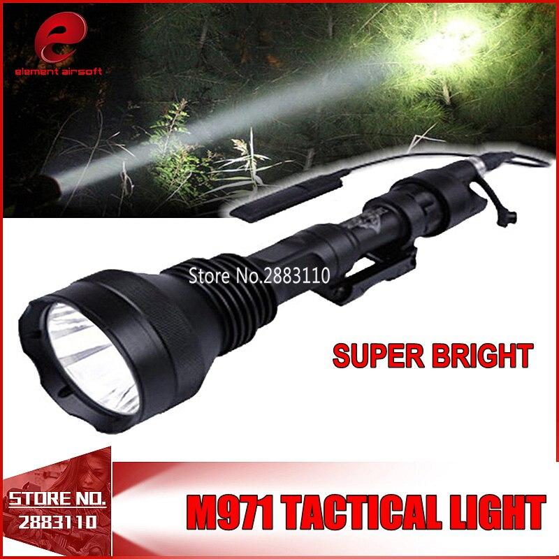 Night Evolution TACTICAL SUPER BRIGHT 600Lumen Weapon LIGHT M971 LED Hunting Handheld NE04013