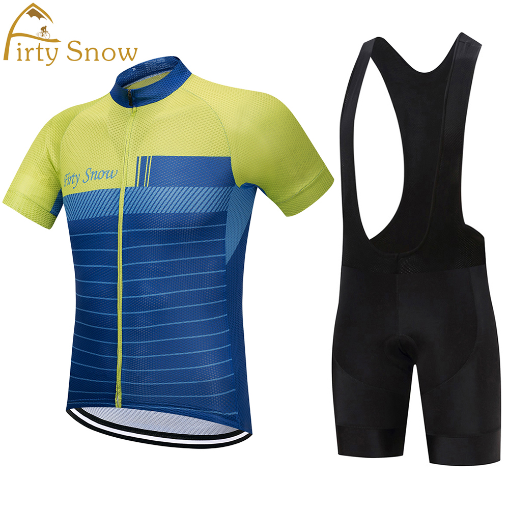 Firty Snow Cycling jersey Set Summer Bicycle Clothing Maillot Ropa Ciclismo Hombre MTB Bike Clothes Sportswear Suit Cycling Set tinkoff saxo bank cycling jersey ropa clismo hombre abbigliamento ciclismo men s cycling clothing mtb bike maillot ciclismo d001