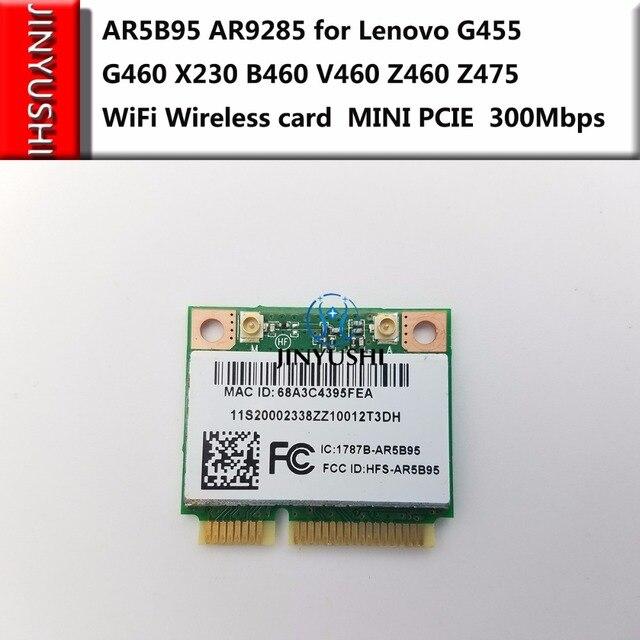 AR5B95 AR9285 для Lenovo G455 G460 X230 B460 V460 Z460 Z475 WiFi беспроводная карта mini pcie