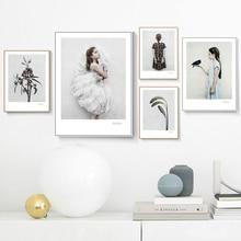 купить!  Классический Цветок Nordic Плакат Картина Розы Wall Art Pictures Пион Плакаты И Принты Для Гостиной  Лучший!