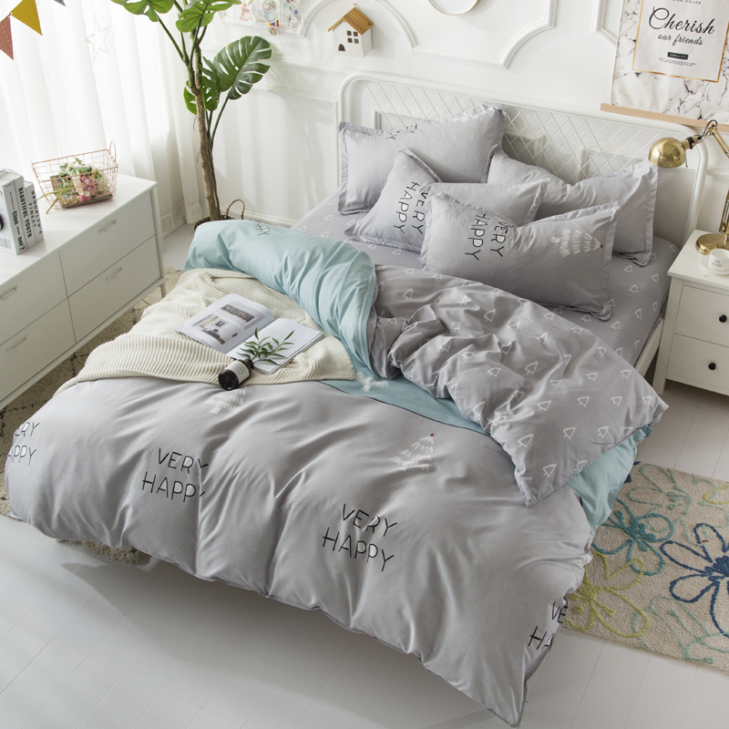 BEST.WENSD Quality Egyptian cotton bedding set Soft comfortable home textiles 2019 New style dekbed overtrek bed linen bed sets