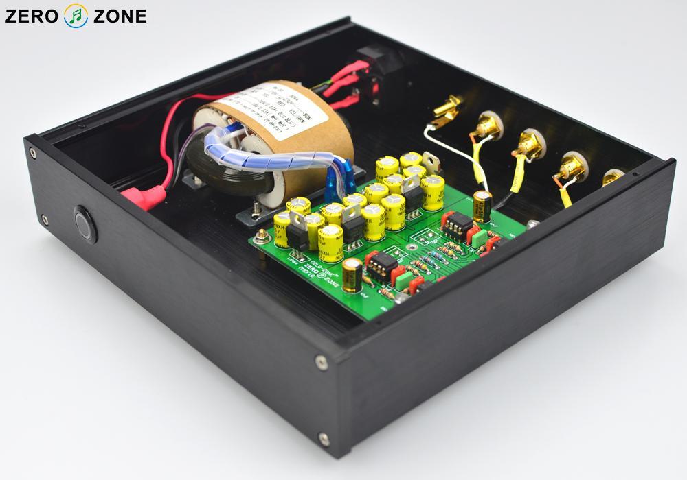 GZLOZONE MMCF10 Hifi LP phonograph MM amplifier RIAA Phono preamplifier