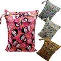 El nuevo venir Wet Dry Bag, con Dos bolsillos Con Cremallera, Bolso Del Panal del Pañal Del bebé, a prueba de agua, nadador, Al Por Menor y Al Por Mayor 25 unids/lote, 28 Opciones