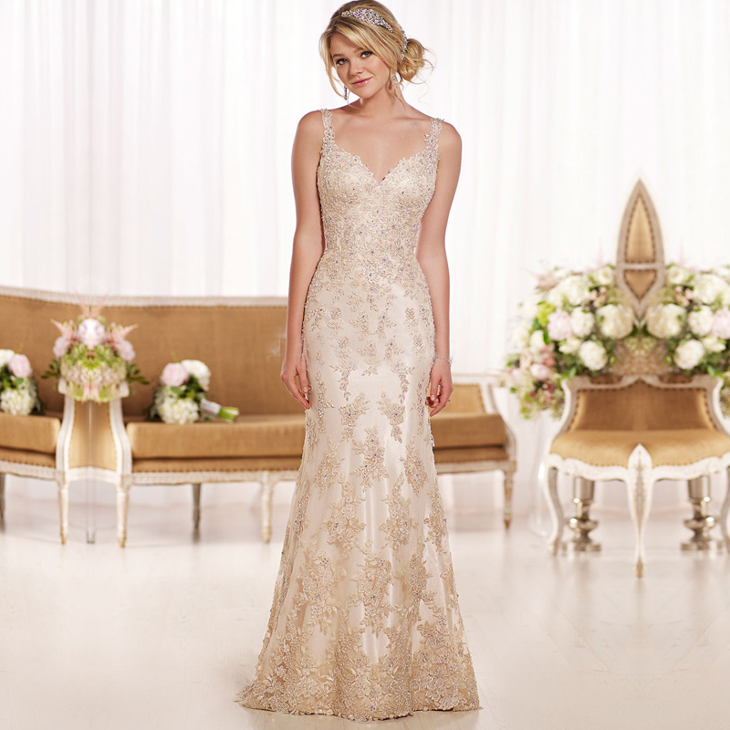 Compare Prices on Wedding Dresses Gold- Online Shopping/Buy Low ...