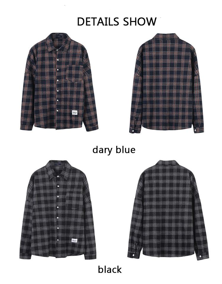 Casual Plaid Summer Shirt Mens Clothing 2019 Floral Printed Streetwear Long Sleeve Men Dress Slim Fit Formal Shirts Cufflinks 35