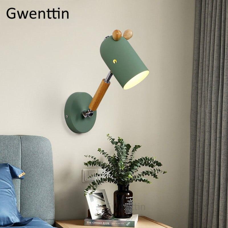 para o quarto das crianças lâmpada cabeceira