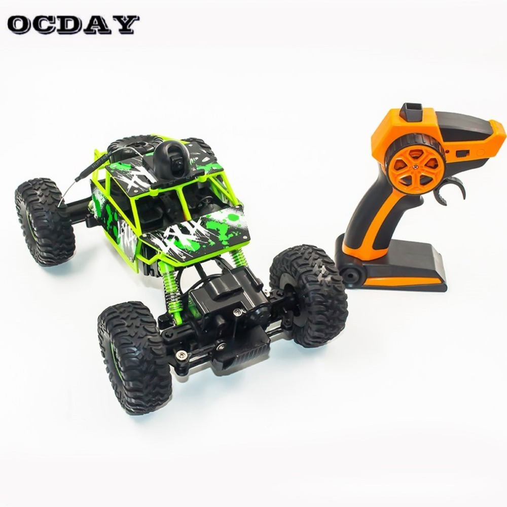 S-001 RC Car 2.4G Toy Car Large 1:18 Vehicle Buggy High Speed Racing Car Remote Control Truck Four-wheel Climber For Kids new 7 2v 16v 320a high voltage esc brushed speed controller rc car truck buggy boat hot selling