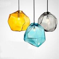 2015 New Modern Glass Pendant Lights American Country Pendant Lamps Fixtures Dining Room Lampadario Moderno Bar
