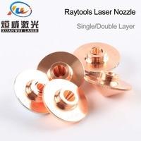 """ממ עבור Raytools לייזר נחיר יחיד Layer / Double שכבות Dia.32mm קליבר 0.8 - 5.0 מ""""מ עבור raytools בודור לייזר conusmables הסיטונאי (4)"""