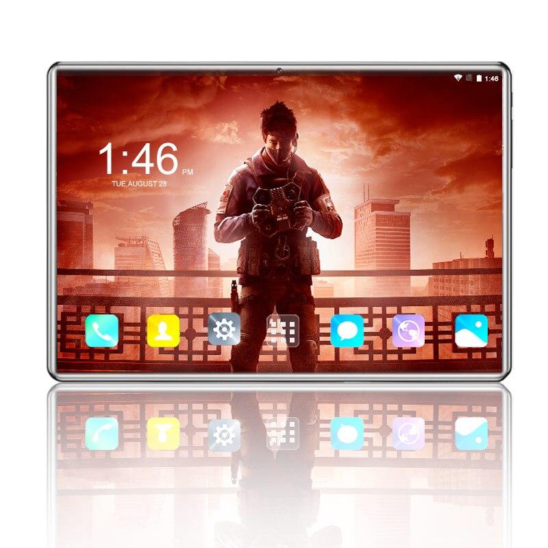 2019 Best-seller 10.1 pouces 3G/4G téléphone appel tablette Pc Android 8.0 Octa Core 6 GB + 64 GB 1280*800 double SIM carte WiFi tablettes 7 10